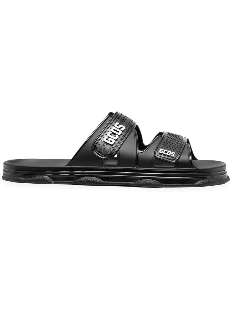 GCDS Black Sandal - Nero