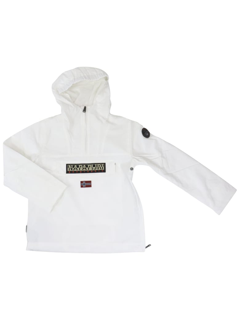 Napapijri Rainforest Sum Jacket - WHITE
