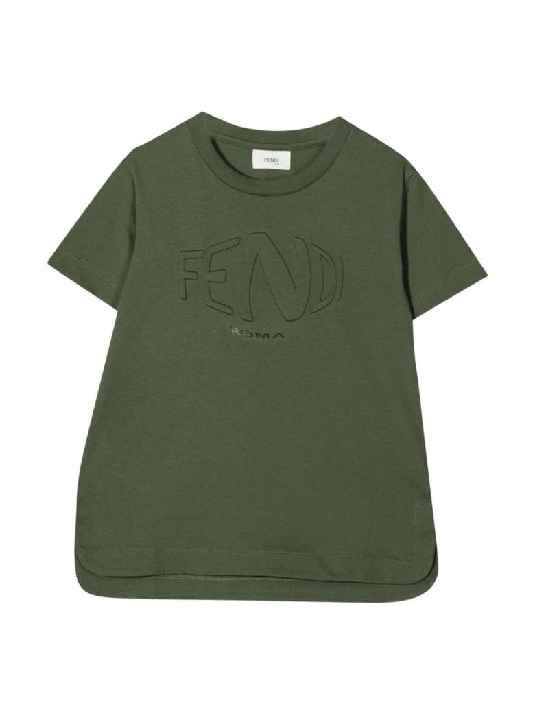Fendi Military Green Unisex T-shirt - Verde