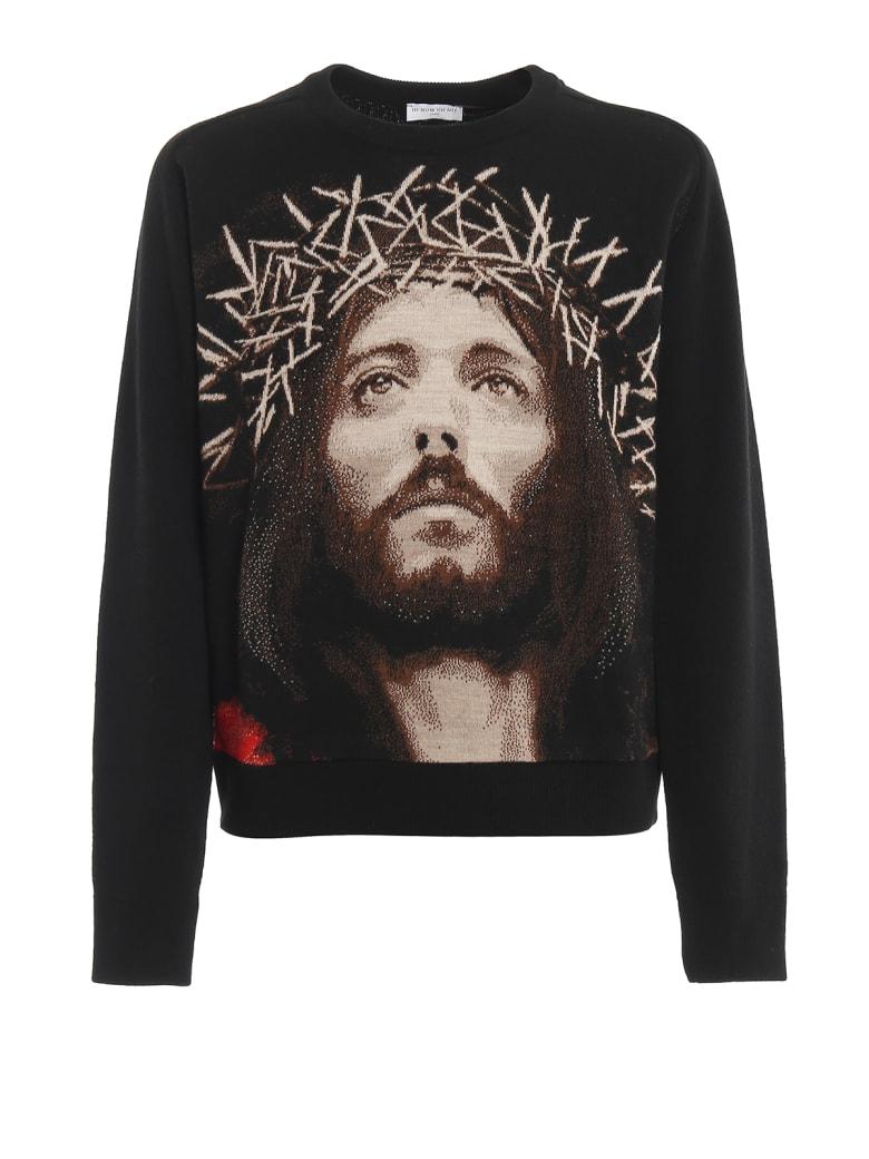 ih nom uh nit Jesus Jacquard - Black