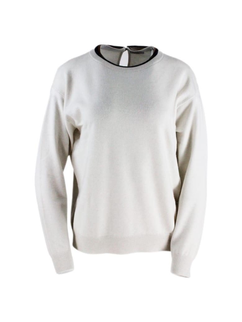 Brunello Cucinelli Crewneck Sweater - Beige