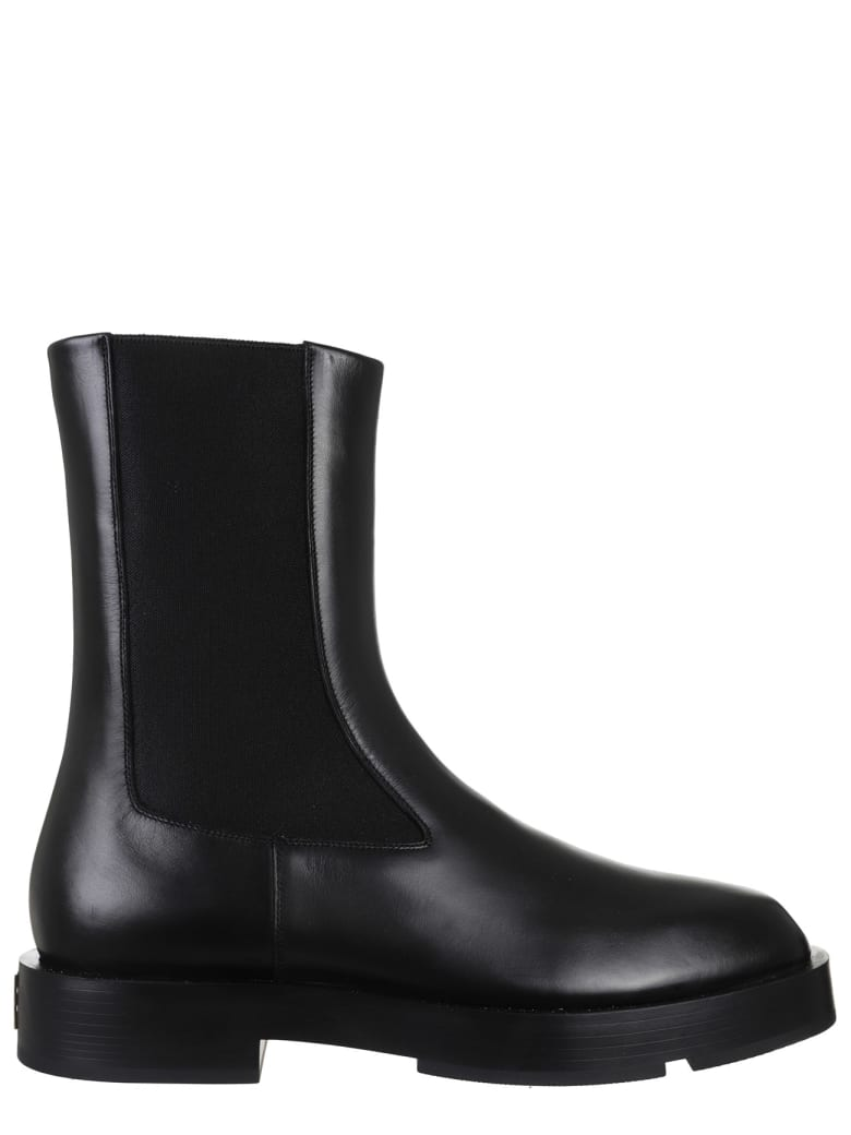 Givenchy Black Chelsea Boots - Black