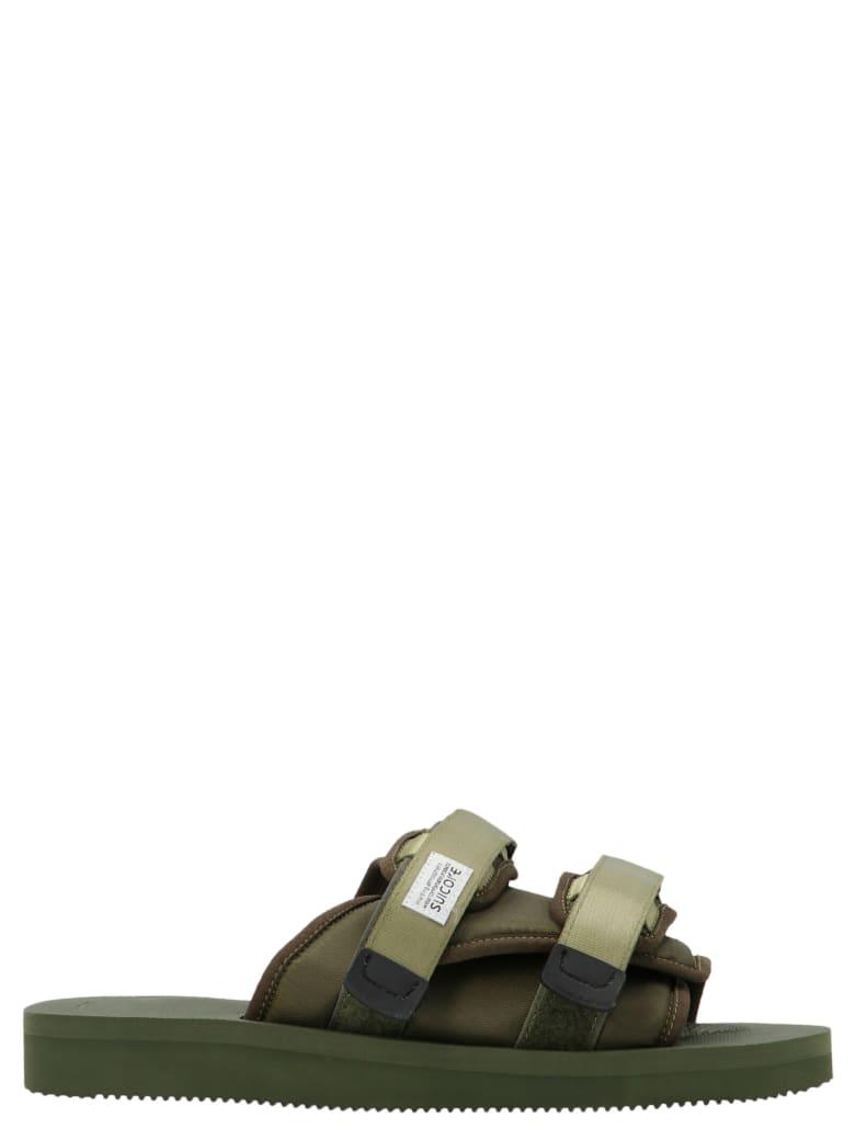 SUICOKE 'moto' Shoes - Verde
