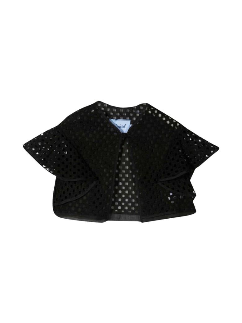 MiMiSol Black Jacket Mi Mi Sol Kids - Nero