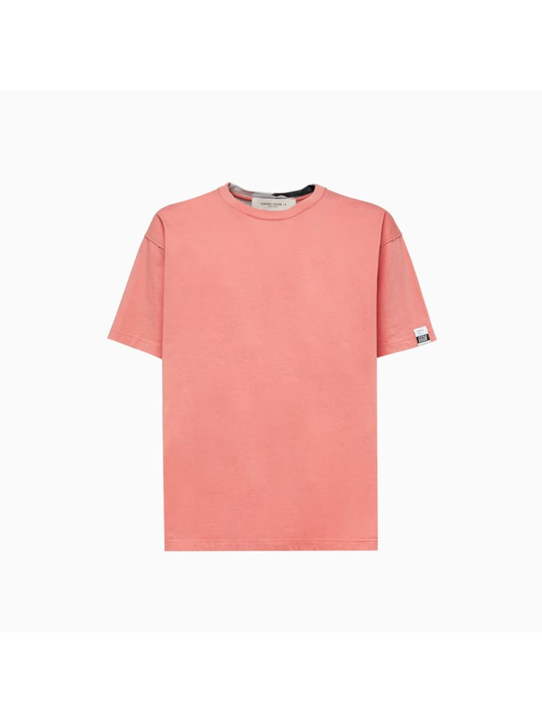 Golden Goose Artu T-shirt Gmp00783p000436 - Desert sand