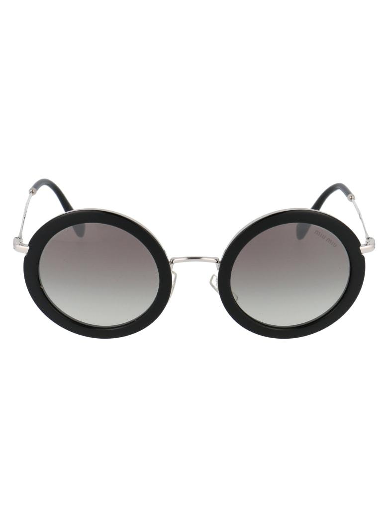 Miu Miu 0mu 59us Sunglasses - 1AB5O0 BLACK