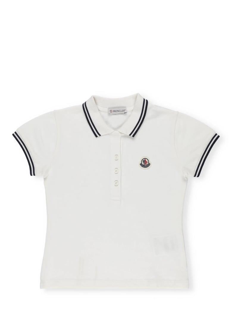 Moncler Cotton Polo - White