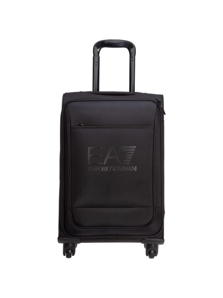 EA7 Emporio Armani Ea7 C2 Ultimate Suitcase - Nero