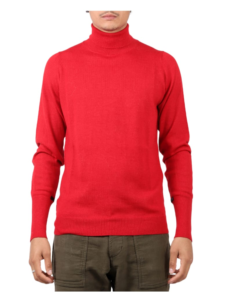 The Inoue Brothers Red Sweater - Red