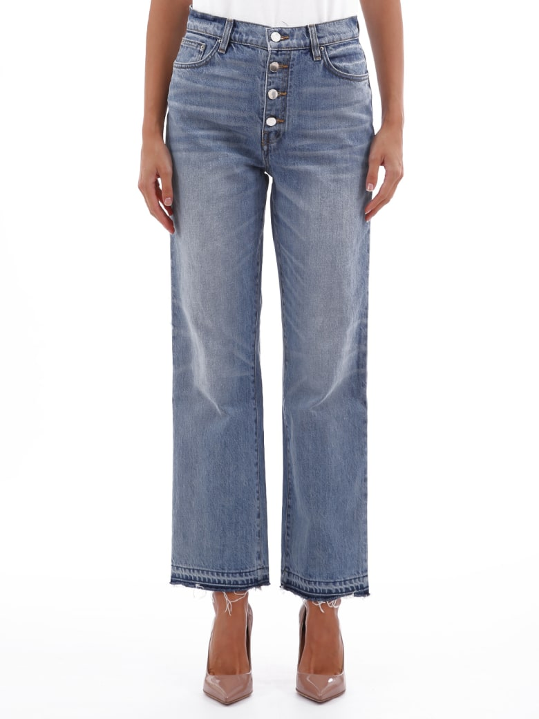 AMIRI Jeans Glitter Track - Light blue