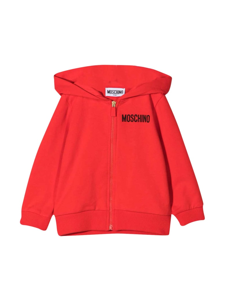 Moschino Red Sweatshirt - Rossa