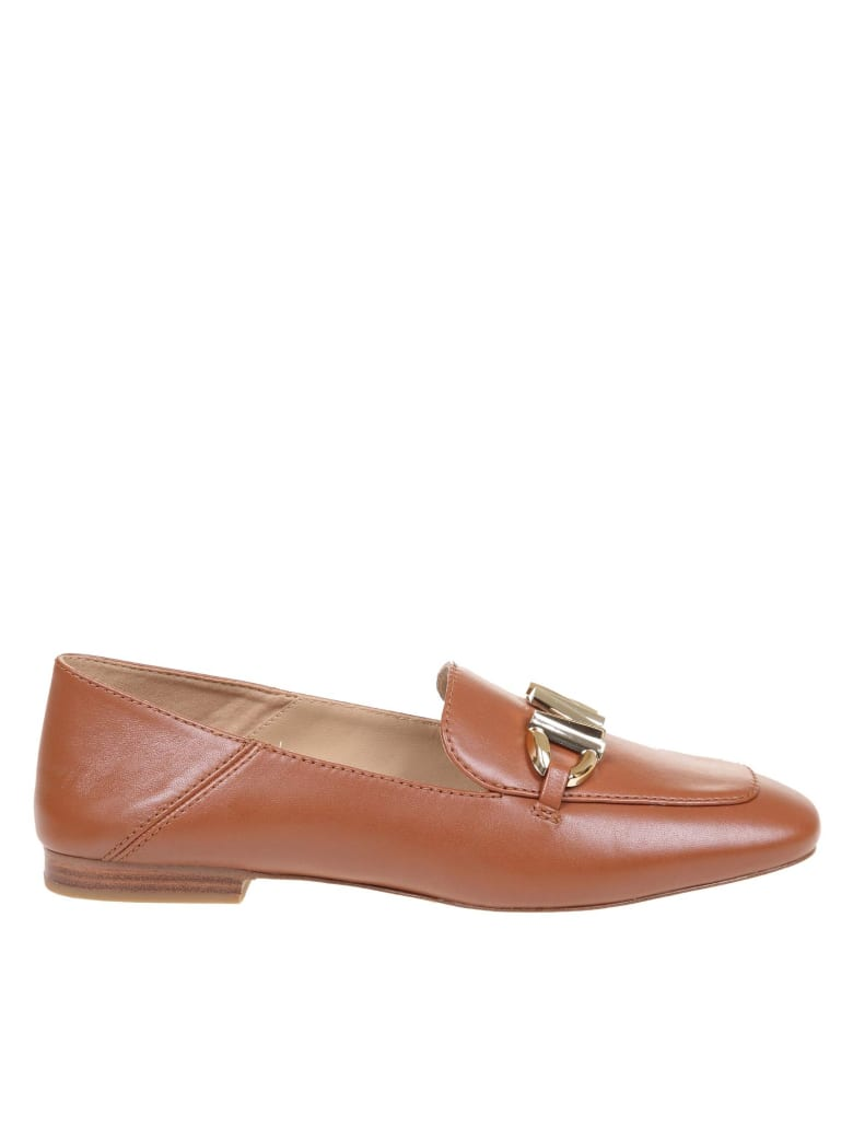Michael Kors Izzy Loafer In Leather Color Leather