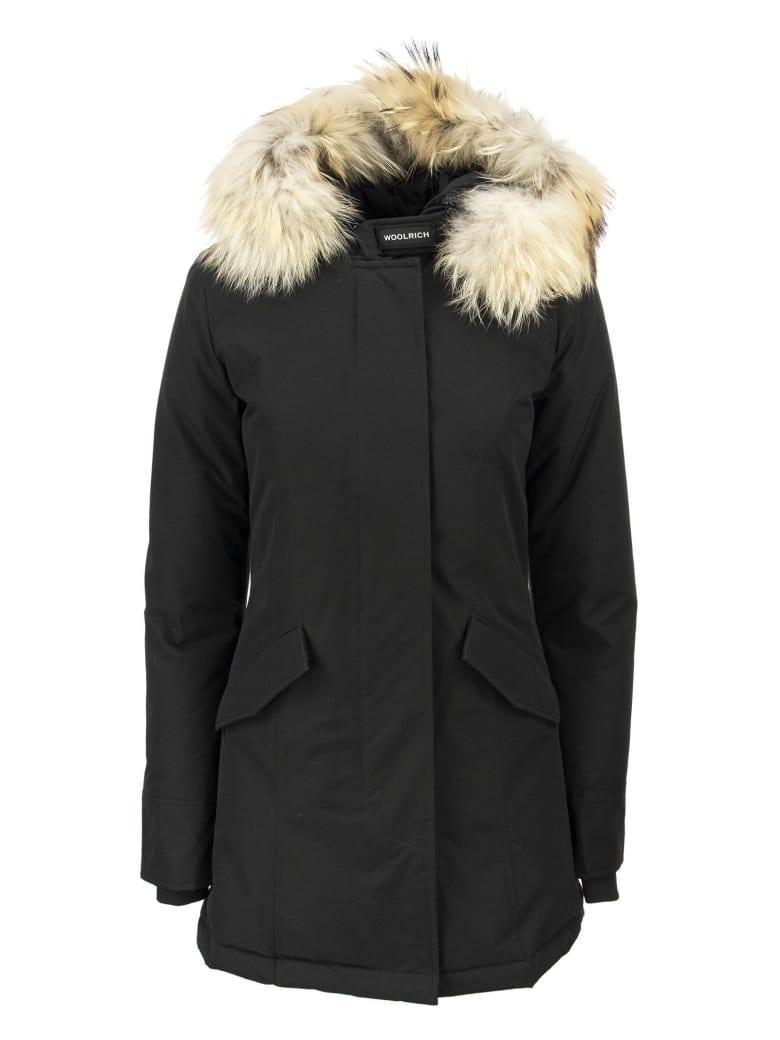 Woolrich Arctic Parka Fur Racoon - Blk