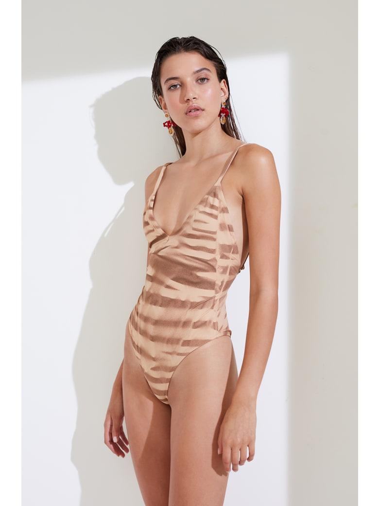Antonella Rizza Bikini Tea Nude - Nude