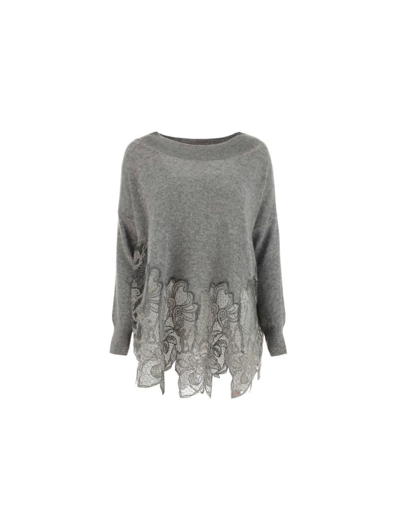 Ermanno Scervino Sweater - Mel grigrio medio