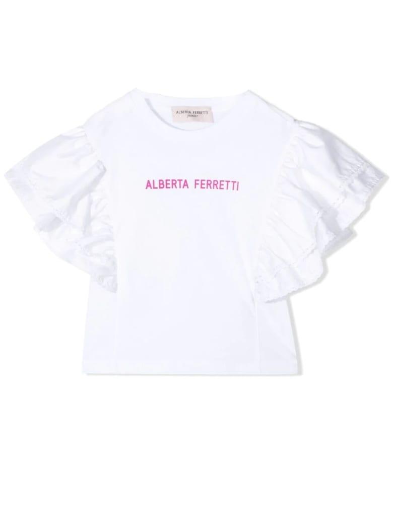 Alberta Ferretti Print T-shirt - White