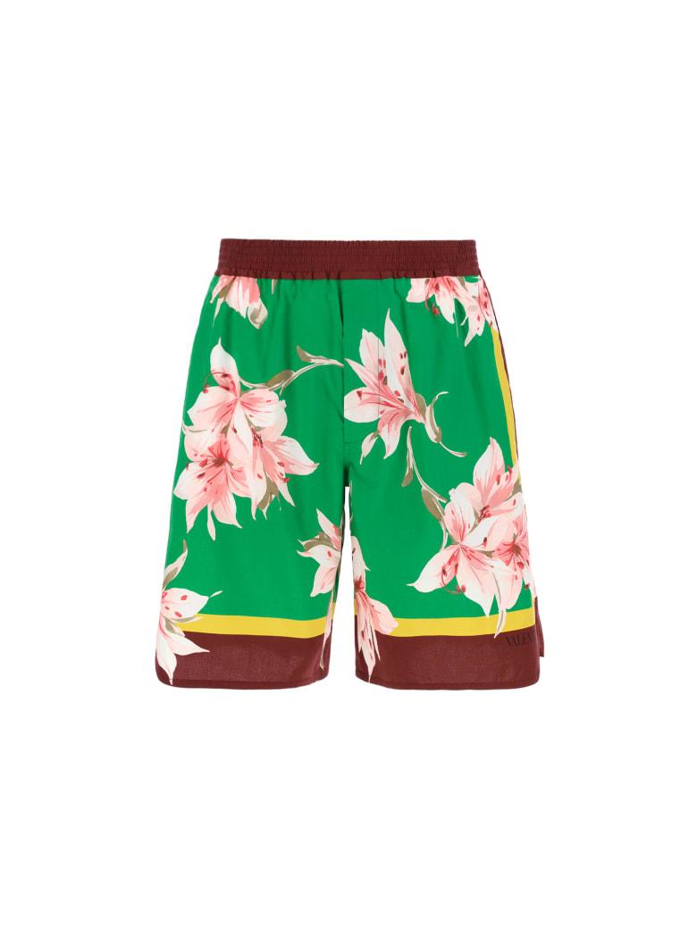 Valentino Bermuda Shorts - St. lilium verde