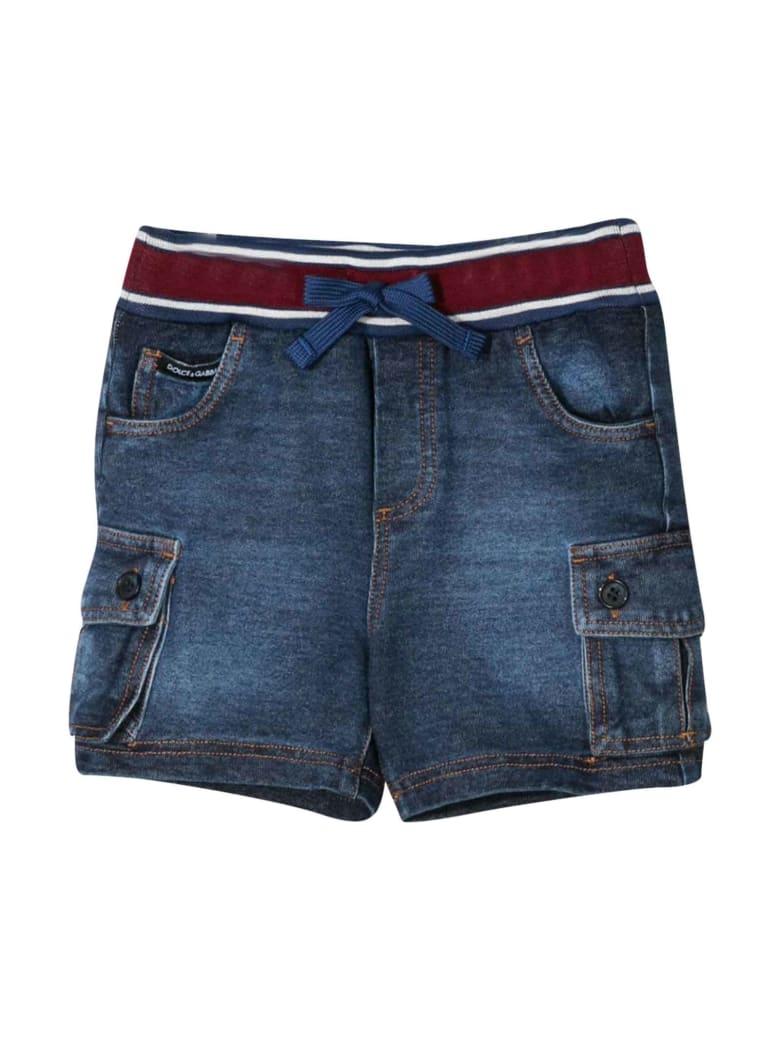 Dolce & Gabbana Denim Bermuda Shorts Dolce&gabbana Kids