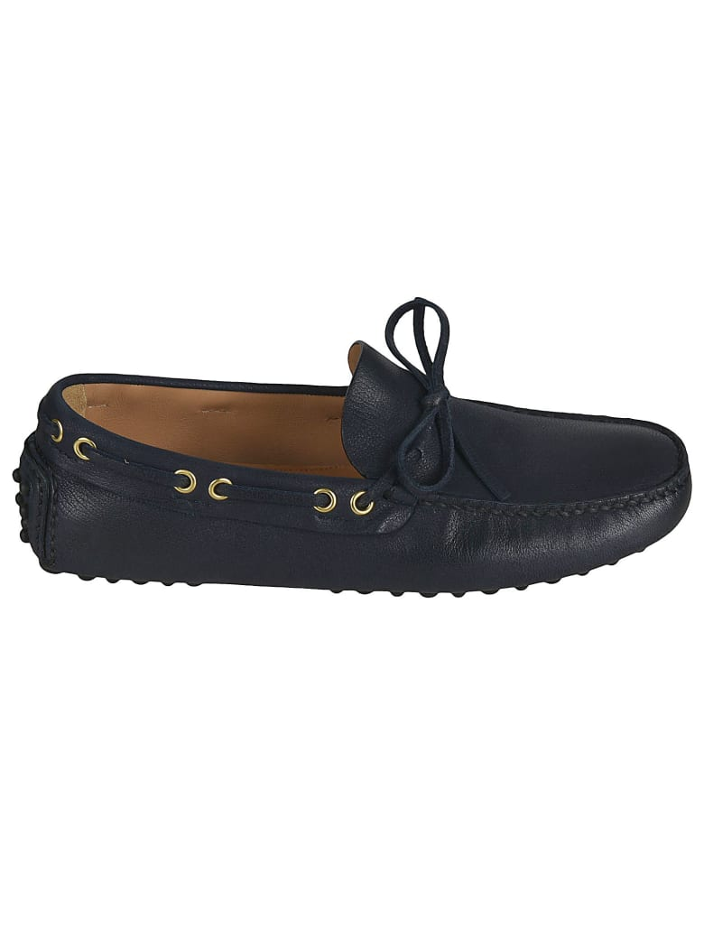 Car Shoe Classic Laced Loafers - Blue
