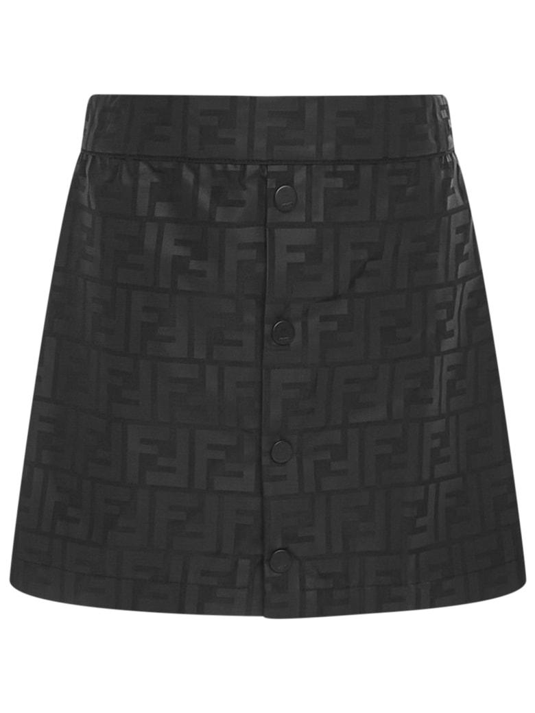 Fendi Kids Mini Skirt - Black