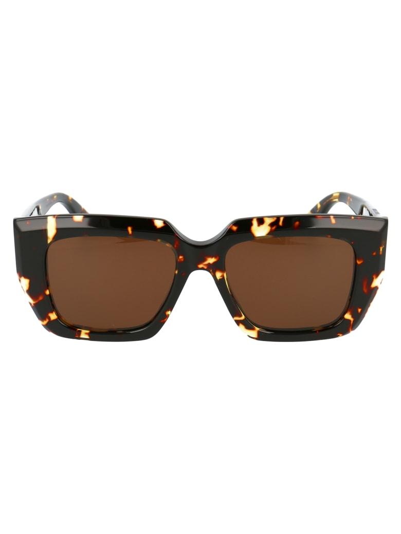 Bottega Veneta Bv1030s Sunglasses - 002 HAVANA HAVANA BROWN