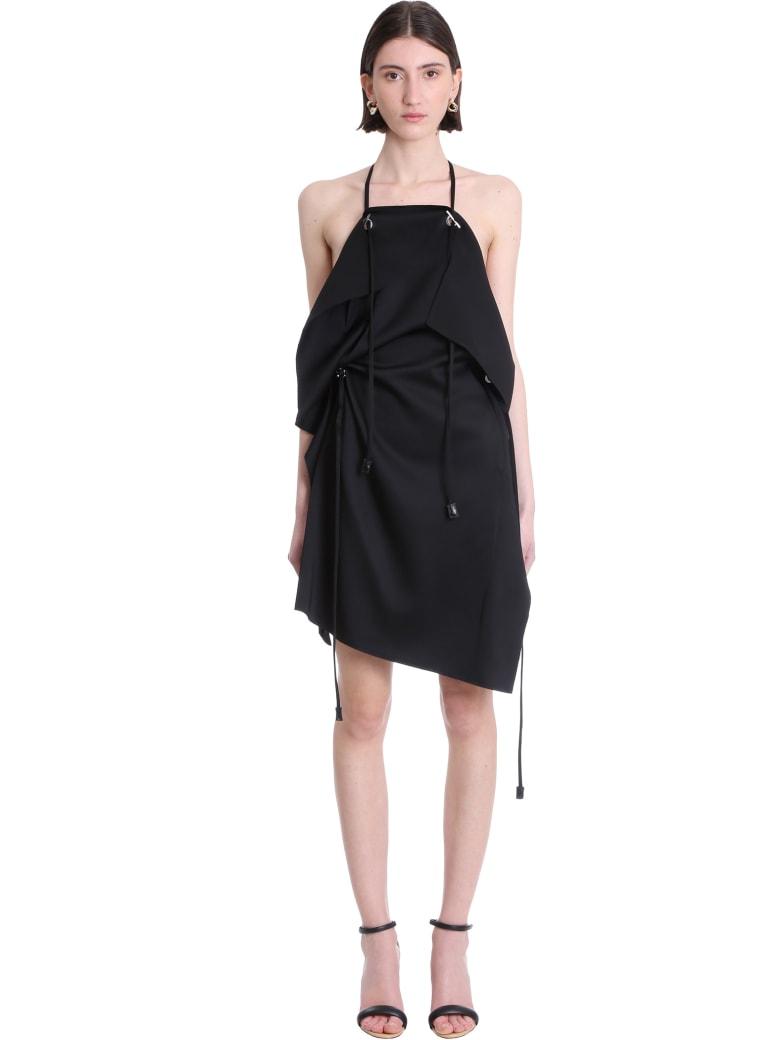 Givenchy Dress In Black Viscose - black