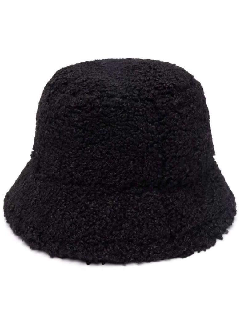 Apparis Teddy Amara Brown Hat - Black
