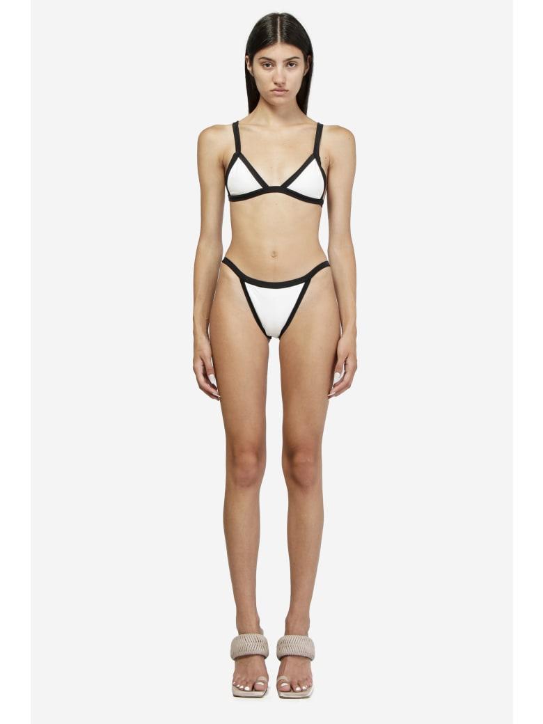 Oseree Eco Microkini Beachwear - white