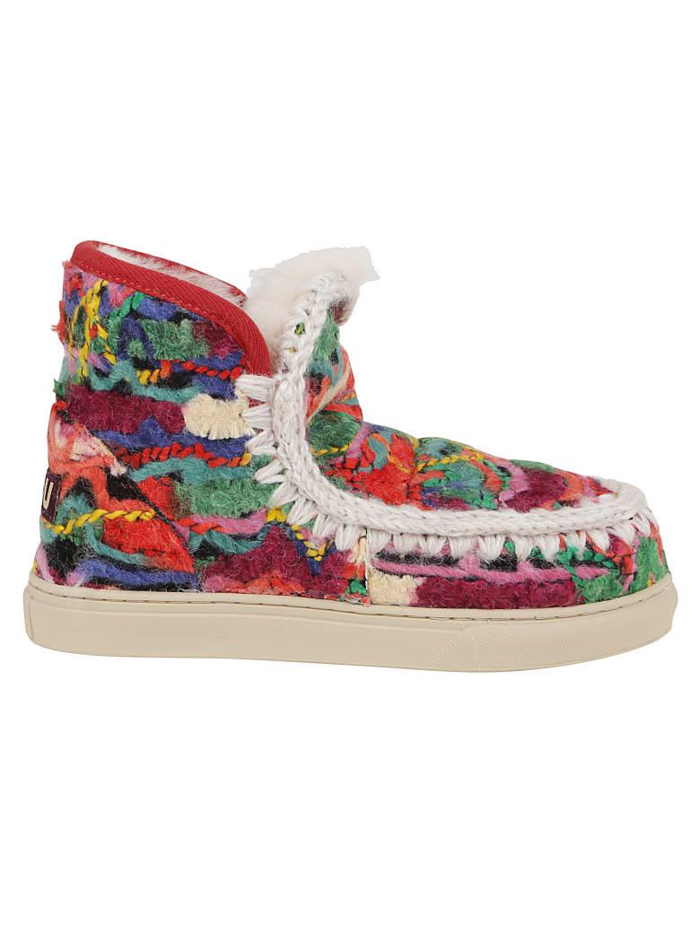 Mou Eskimo Sneaker Wool Ethnic - Menmul Ethnic Wool Multicolor
