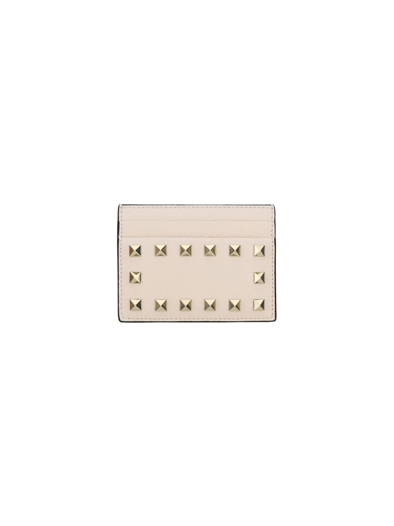 Valentino Garavani Card Holder - Light ivory
