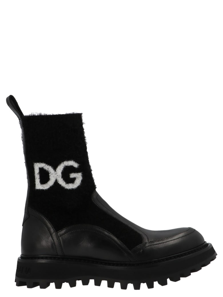 Dolce & Gabbana 'bernini' Shoes - Black