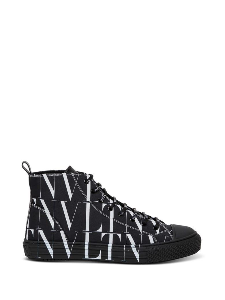 Valentino Garavani Vltn Times Black Sneakers - Black