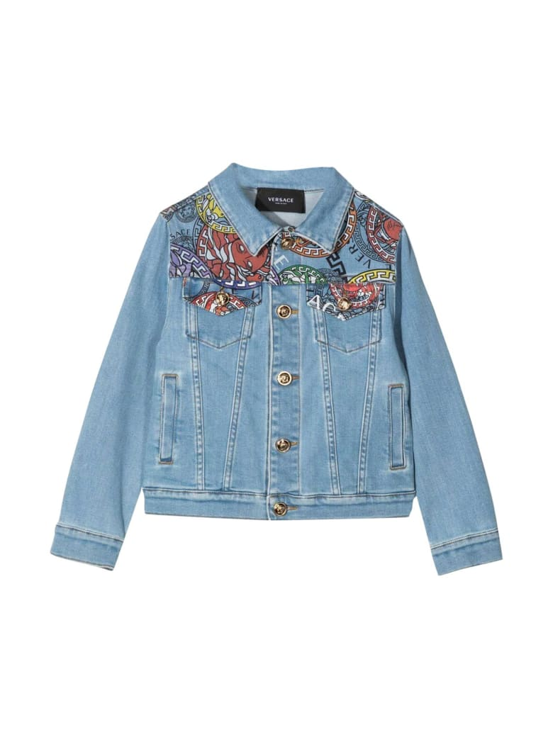 Young Versace Denim Jacket - Multicolor
