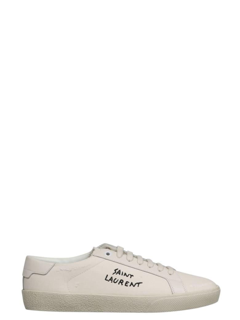 Saint Laurent Sl06 20 Embroid - White