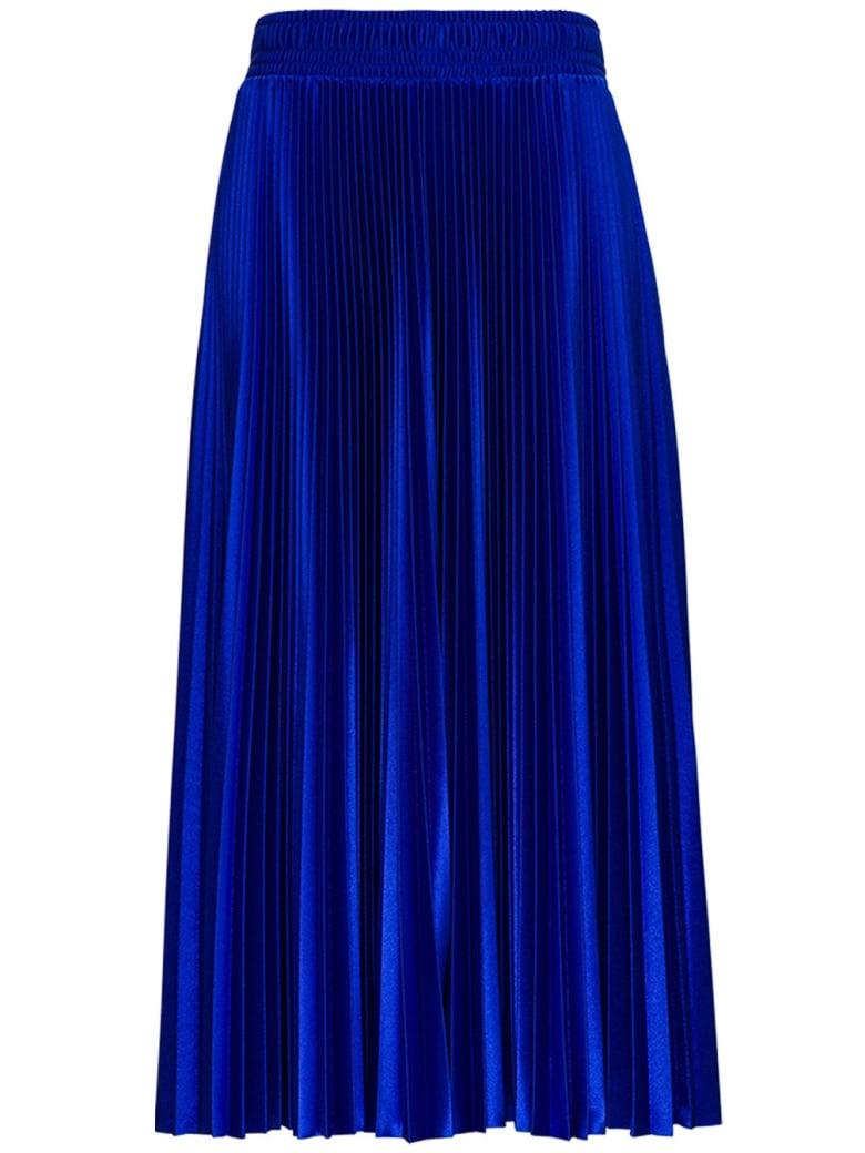 Balenciaga Blue Pleated Tracksuit Skirt - Blu
