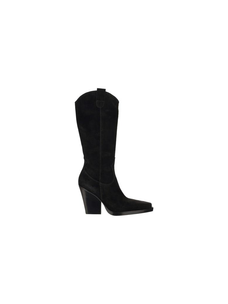 Paris Texas Vegas Boots - Off black