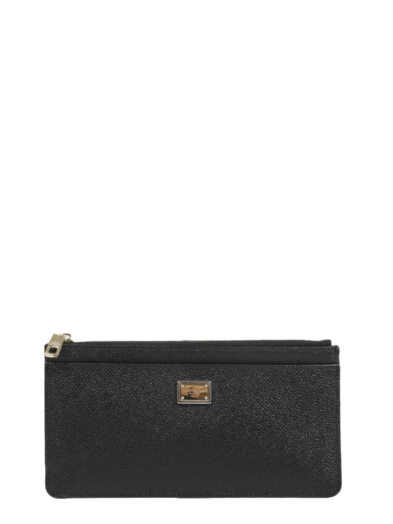 Dolce & Gabbana Black Card Holder - Black