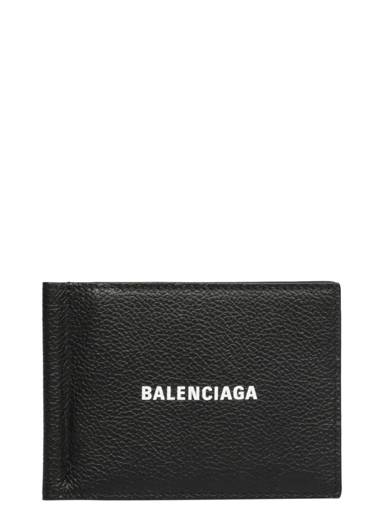 Balenciaga Cash Fol Card - Black