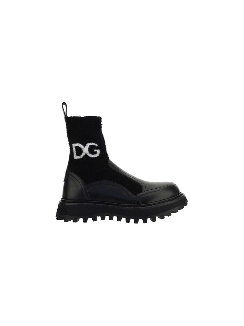 Dolce & Gabbana Boots - Nero/nero