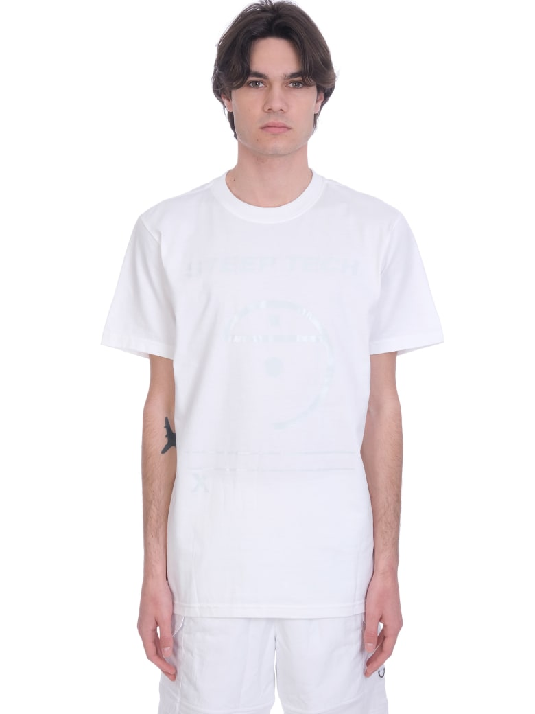 The North Face T-shirt In White Cotton - white
