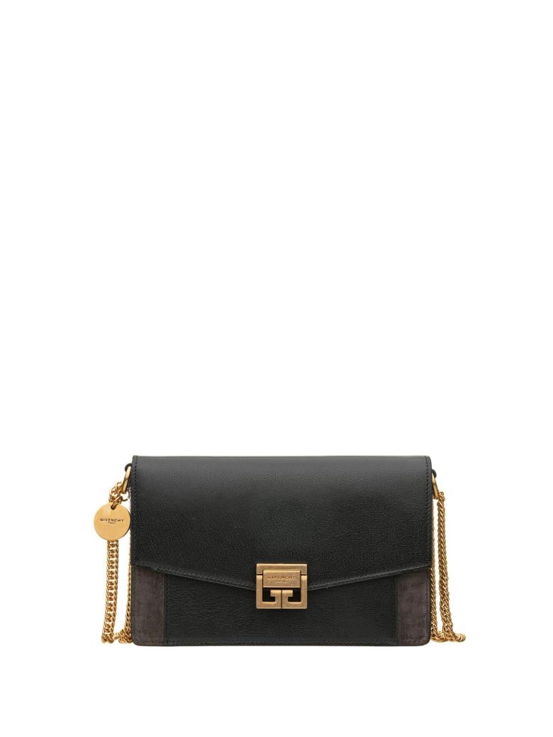 Givenchy Givenchy Gg Wallet With Chain - BLACK GREY