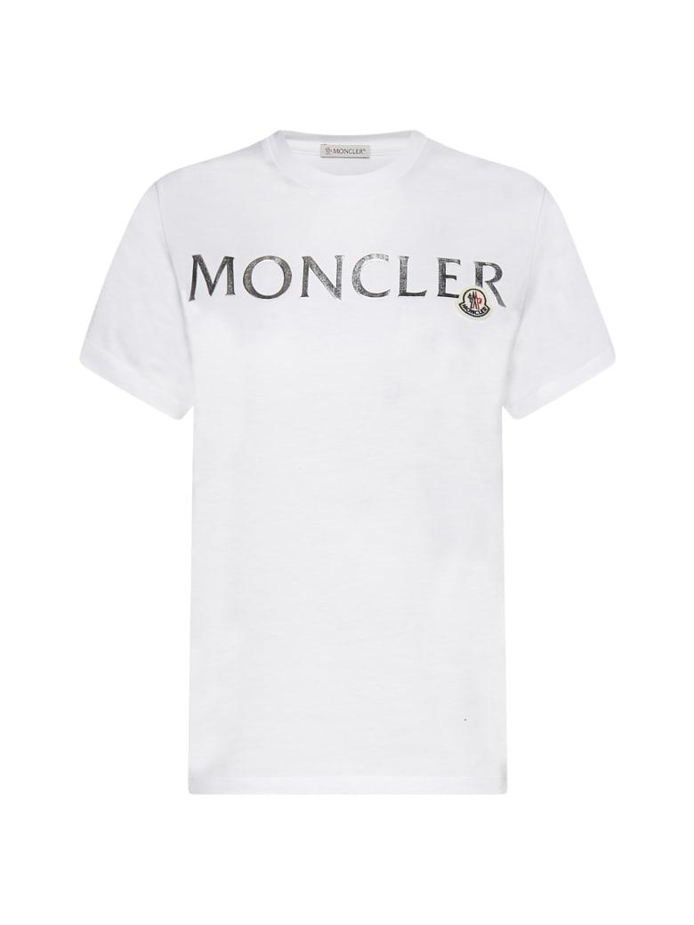 Moncler T-Shirt - Bianco