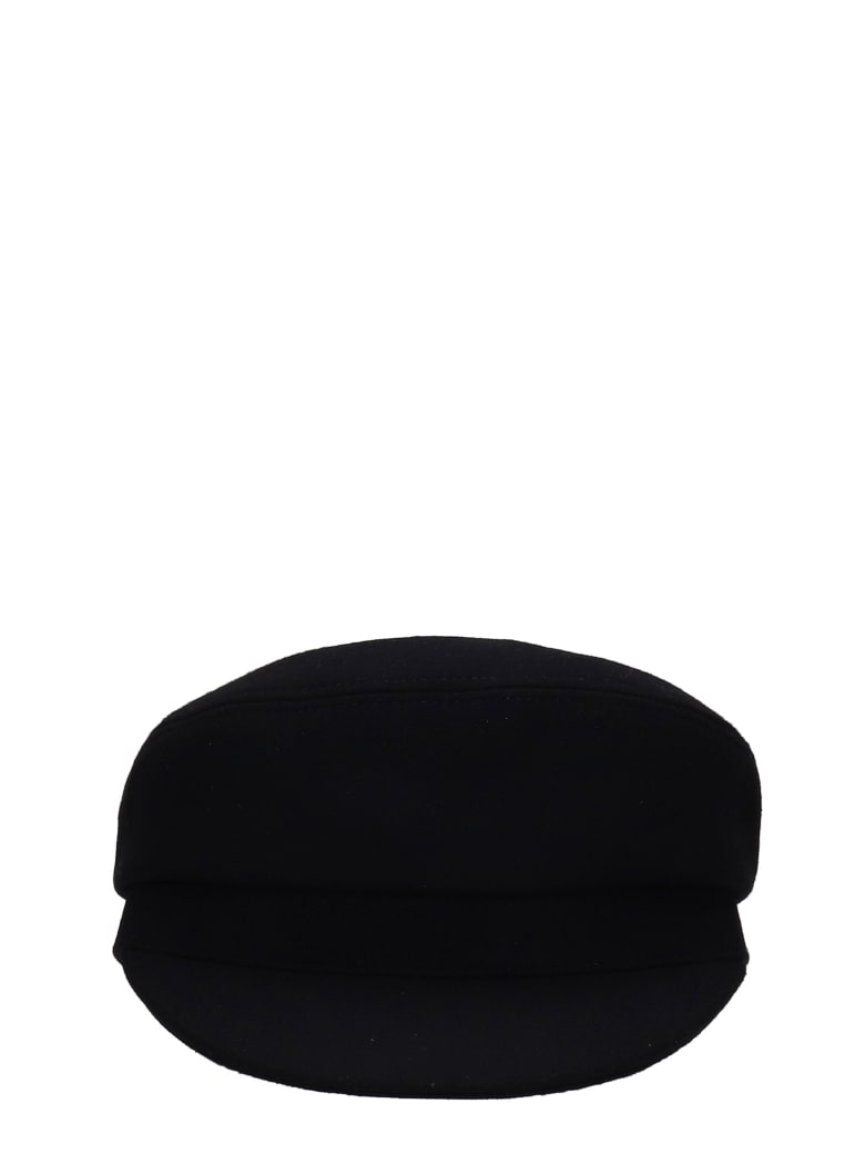 Isabel Marant Evie  Hats In Black Wool - black