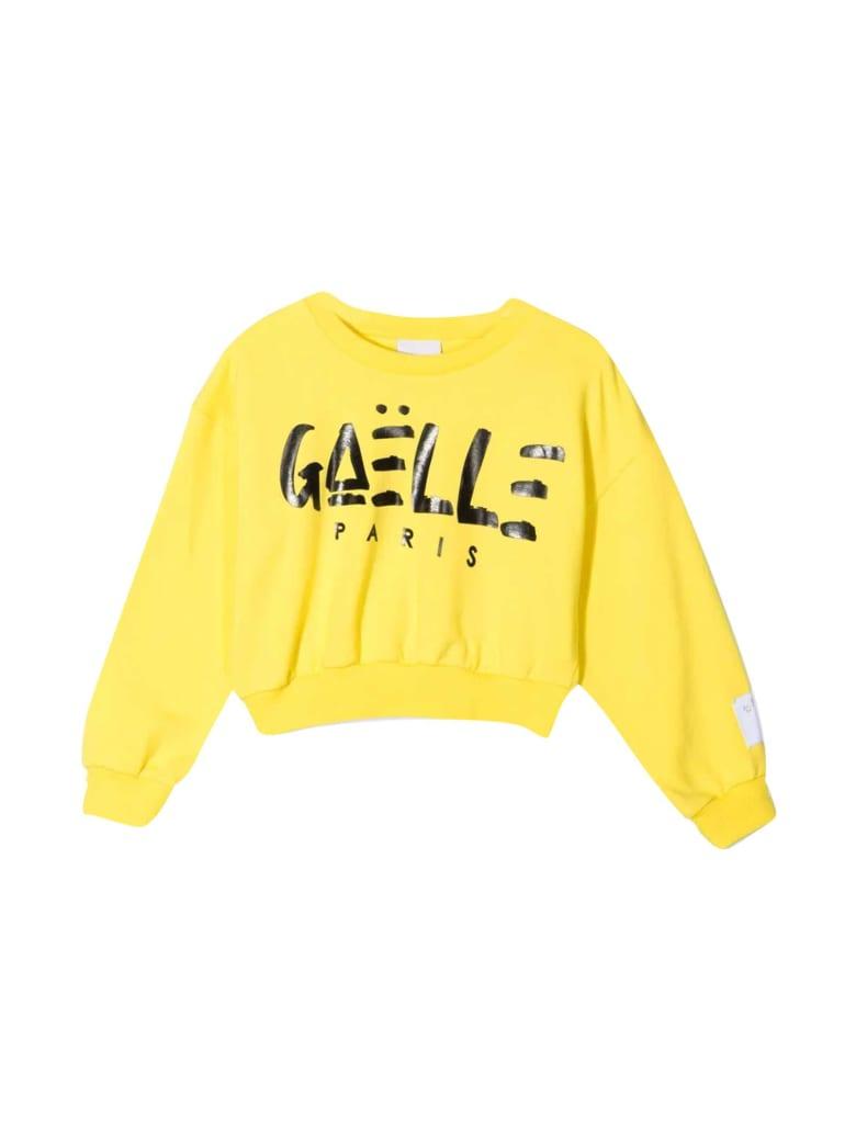 Gaelle Bonheur Asymmetrical Sweatshirt - Giallo