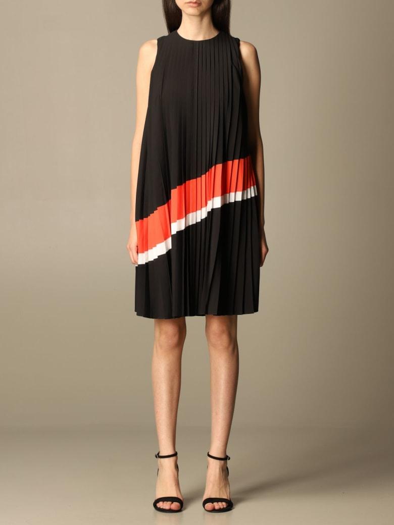 Armani Collezioni Armani Exchange Dress Armani Exchange Pleated Short Dress - Black