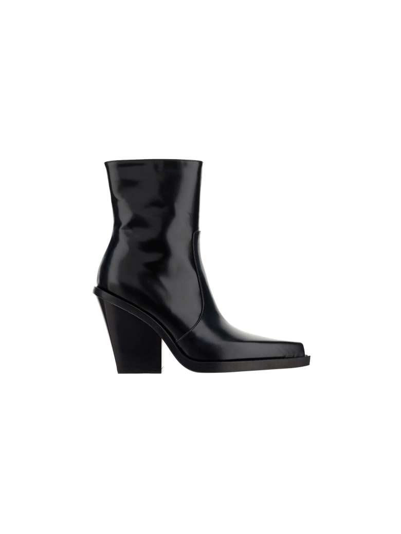 Paris Texas Rodeo Boots - Black