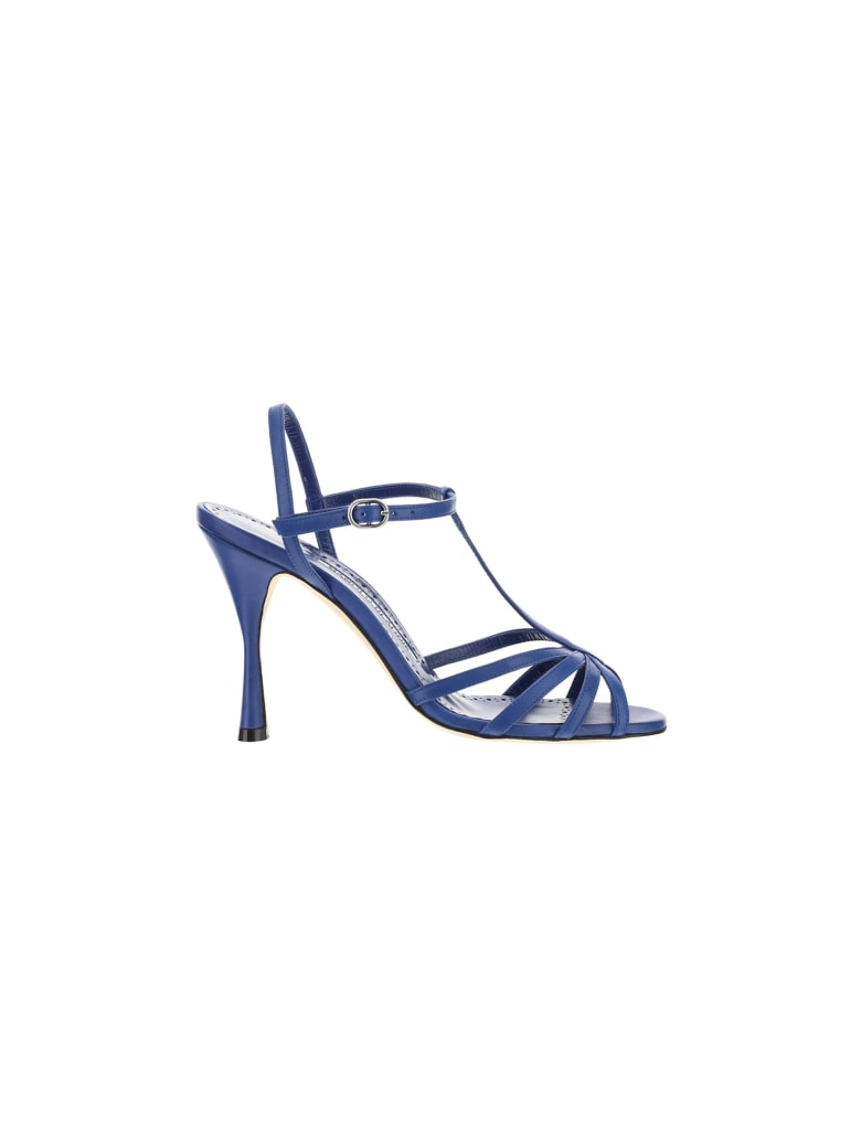 Manolo Blahnik Marana 105 Sandals - Bblu