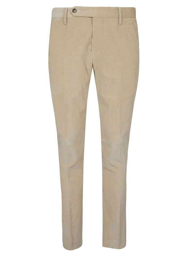 Entre Amis Classic Corduroy Trousers - Cream