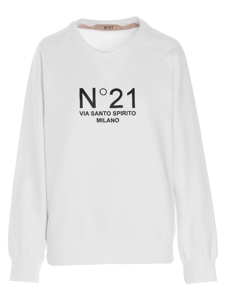 N.21 'n21 Santo Spirito' Sweatshirt - White