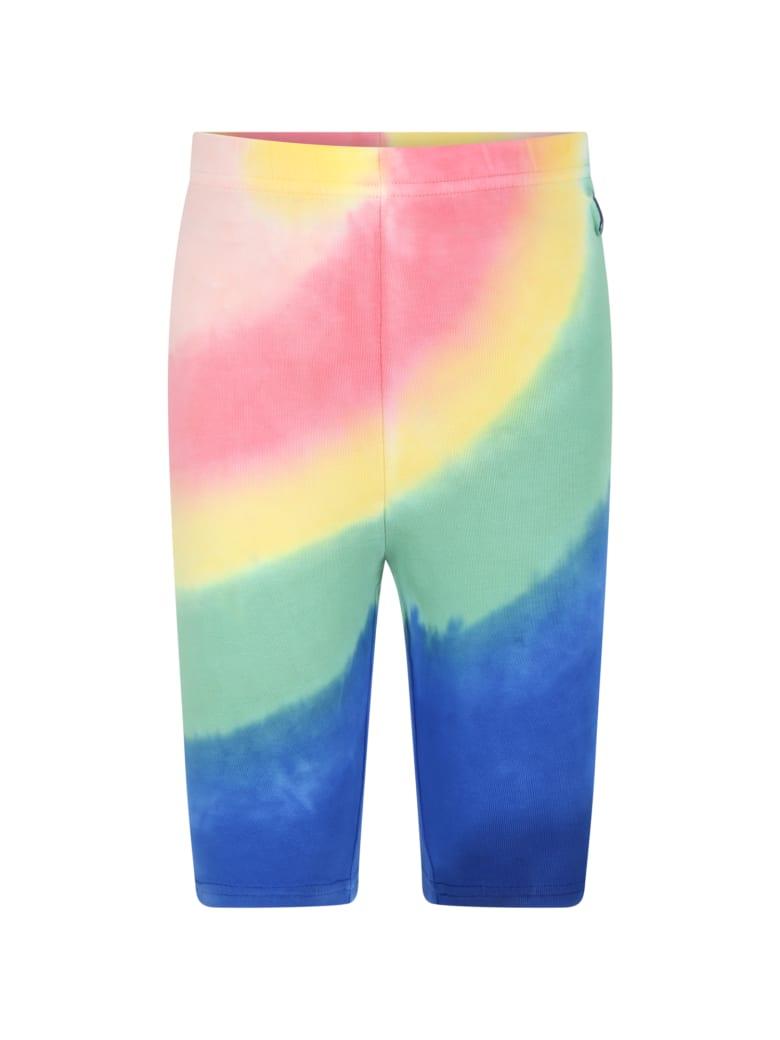Ralph Lauren Multicolor Biker Short For Girl - Multicolor